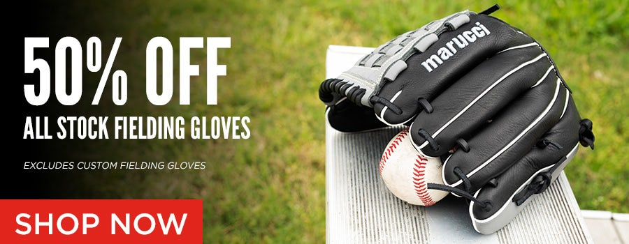 50% off stock fielding gloves
