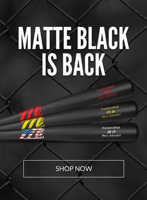 Matte Black Bats Are Back